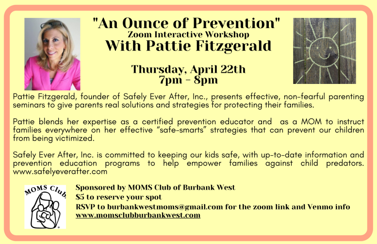Pattie Fitzgerald An Ounce of Prevention